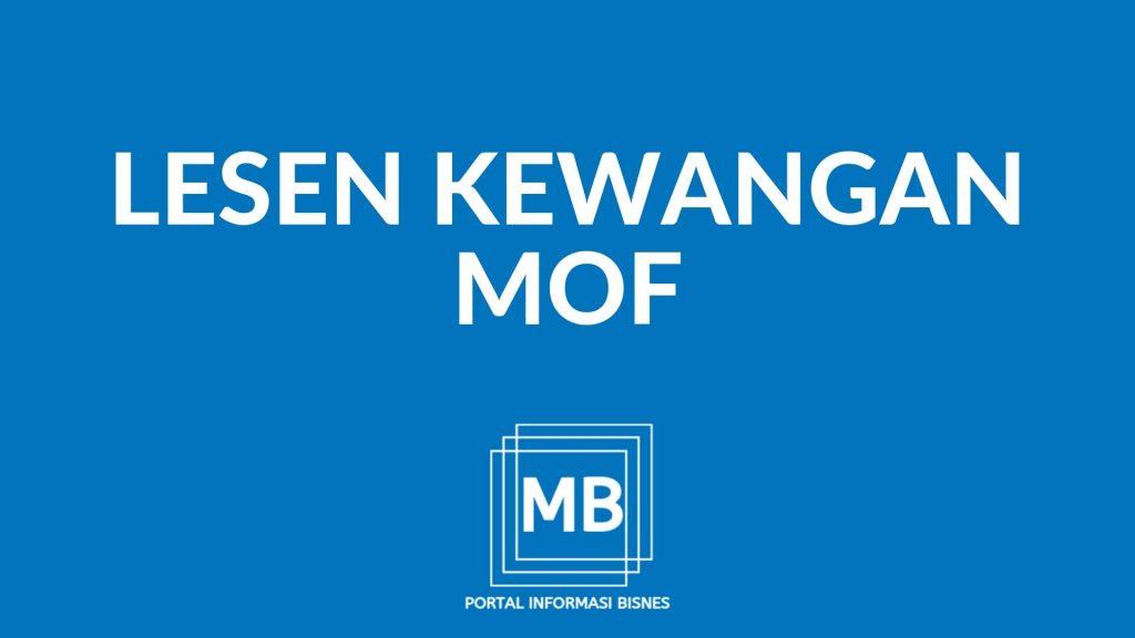 Daftar MOF online