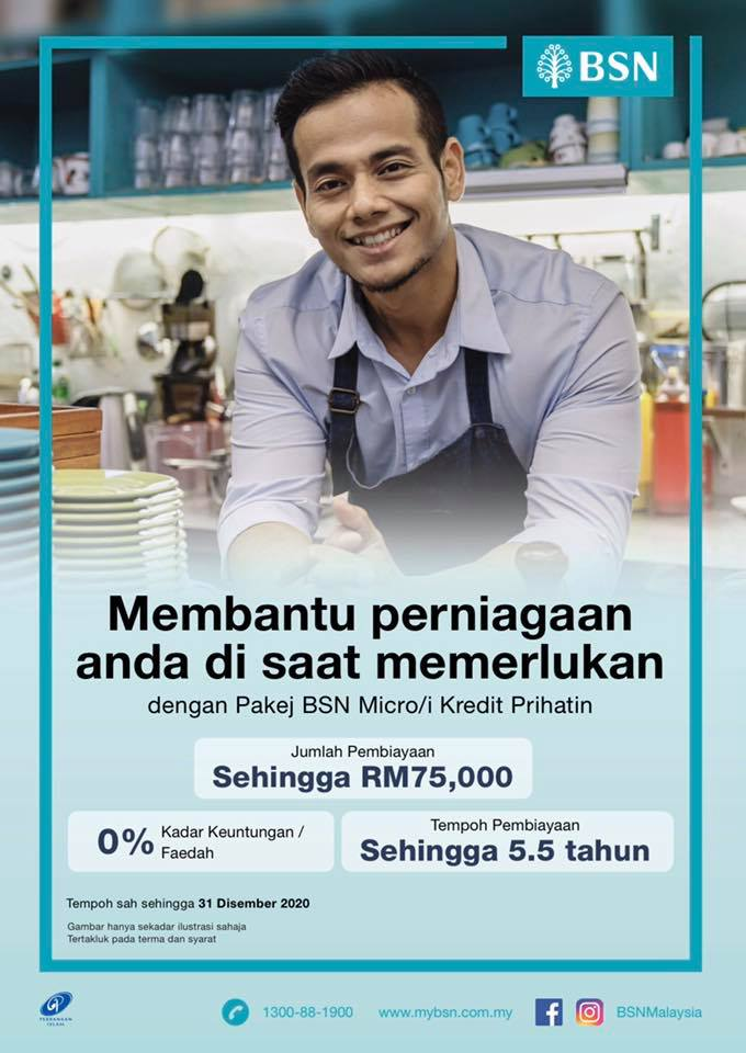 Pinjaman BSN covid micro kredit